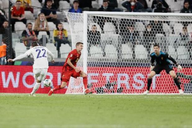 Diables Rouges - La Belgique renversée 2-3 par la France en demi-finale après avoir mené 2-0 à la pause