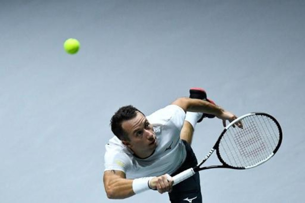 Kohlschreiber bat le Chilien Jarry, qualifie l'Allemagne et élimine la Belgique en Coupe Davis