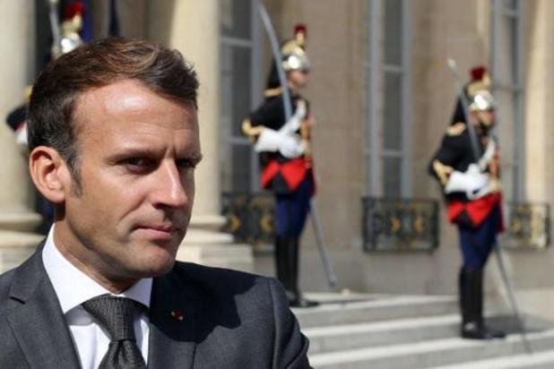 Franse president vertrokken naar Libanese hoofdstad