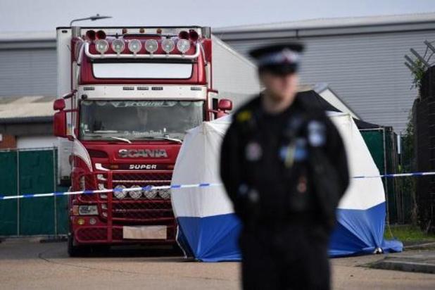 Politie Essex pakt man op in verband met dood van 39 migranten in koelaanhangwagen