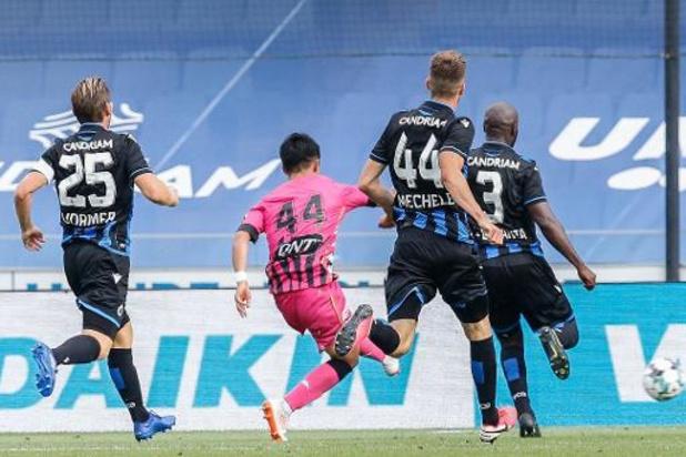 Jupiler Pro League - Charleroi a ouvert le championnat par une prouesse face au Club Bruges