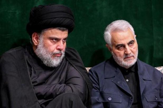 Iraakse sjiitische leider al-Sadr wil grote manifestatie tegen aanwezigheid VS