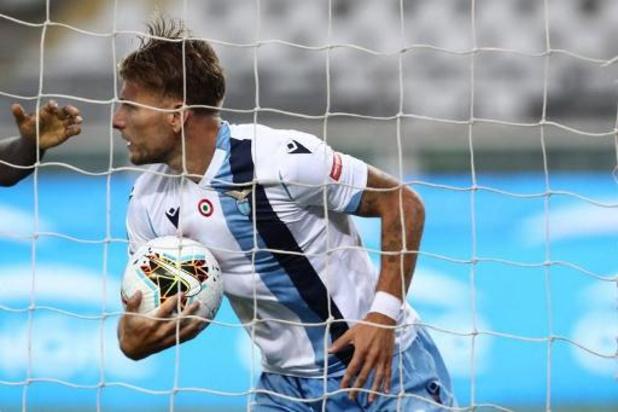 Les Belges à l'étranger - La Lazio émerge sur la pelouse du Torino et met la pression sur la Juventus