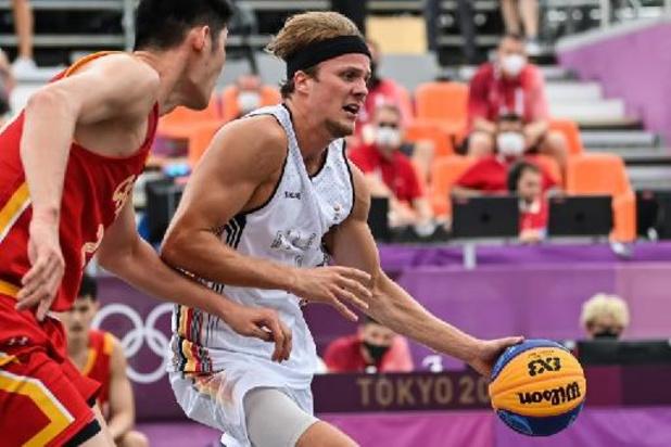 La Belgique battue par la Chine (20-21) en basket 3x3