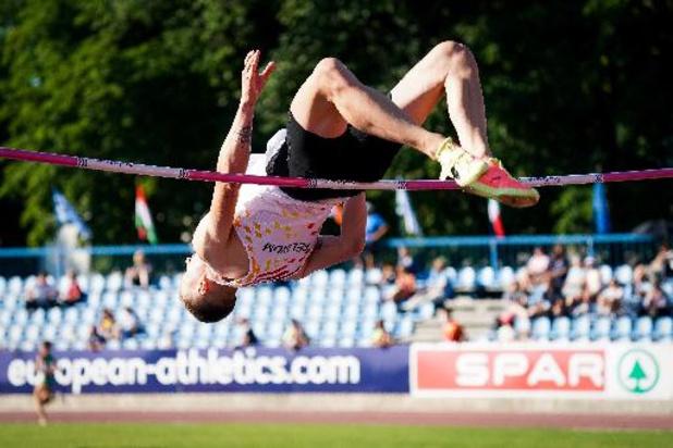 Championnats d'Europe espoirs - Thomas Carmoy termine 9e à la hauteur