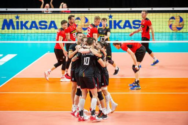 EK volley (m) - Red Dragons boeken stuntzege tegen Duitsland