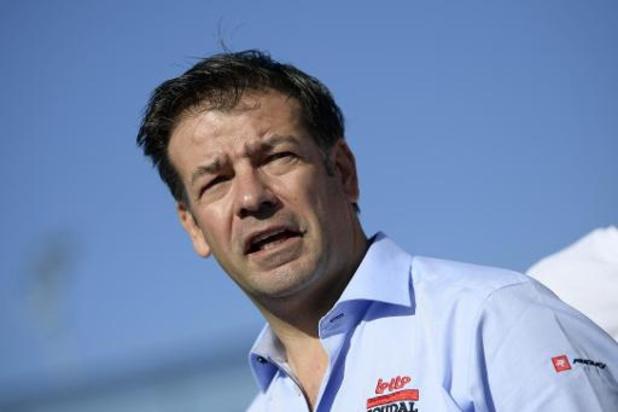 """""""Nous ne perdons pas courage"""", déclare John Lelangue, le manager de Lotto Soudal"""