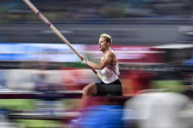 Mondiaux d'athlétisme - Ben Broeders se hisse en finale à la perche