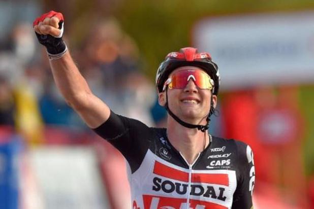 Vuelta - Tim Wellens wint vijfde etappe