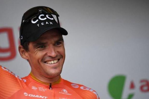 Greg Van Avermaet is blij met eerste plaats op UCI-ranking voor eendagswedstrijden