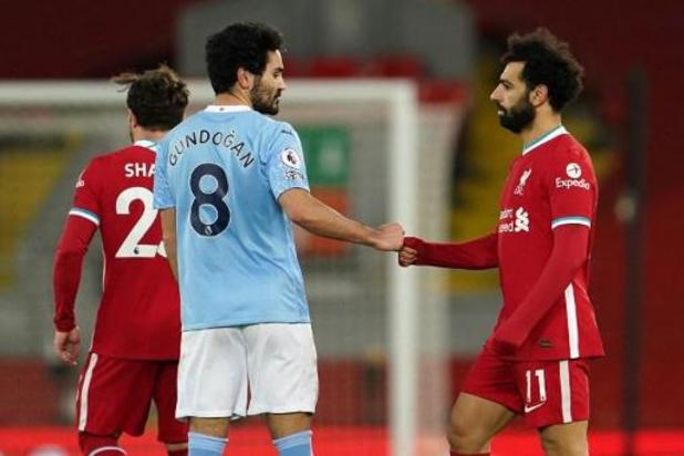 Les Belges à l'étranger - Manchester City a écarté Liverpool de la course au titre