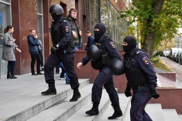 Huiszoekingen over heel Rusland bij ngo van opposant Navalny