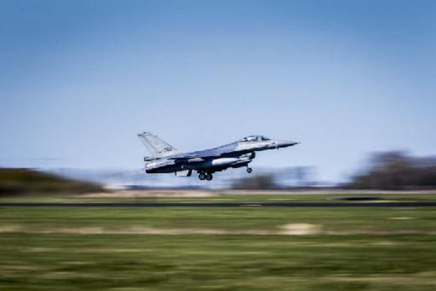 """Le """"patron"""" de la Force aérienne """"content"""" de l'issue de l'incident à Leeuwarden"""