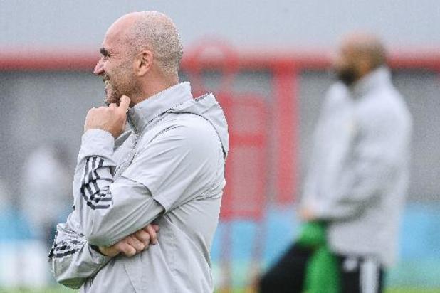 """EK 2020 - Roberto Martinez denkt niet aan nederlaag: """"Doen alles om match van morgen te winnen"""""""