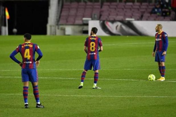 La Liga - Barcelona blijft op 1-1 steken tegen Eibar
