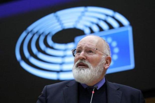 EU tikt Demir op de vingers over klimaatdoelstellingen