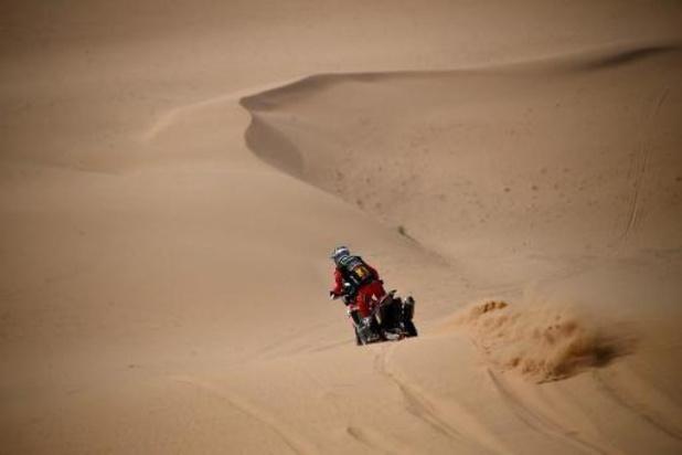 Abandon du leader du Dakar en moto, le Chilien Cornejo Florimo, victime d'une chute
