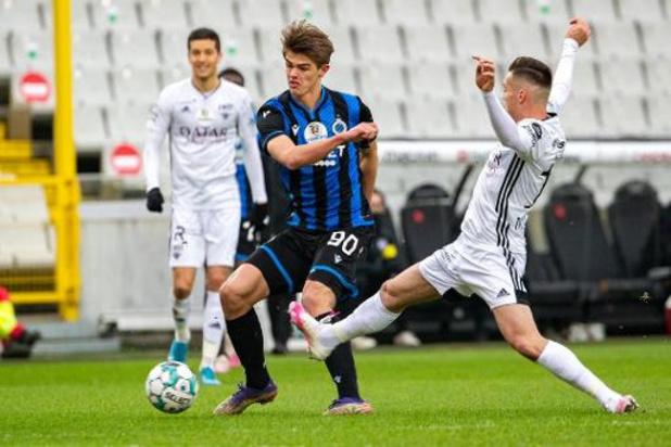 Charles De Ketelaere (Club Brugge) vermorzelt tegenstand en is Belofte van het Jaar