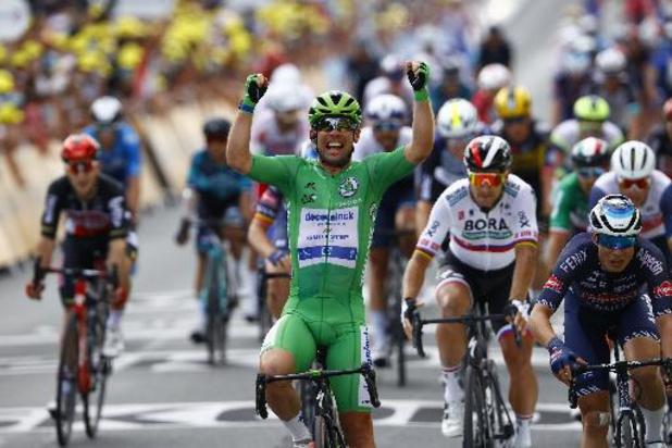 Cavendish encore vainqueur à Châteauroux et toujours plus proche d'Eddy Merckx
