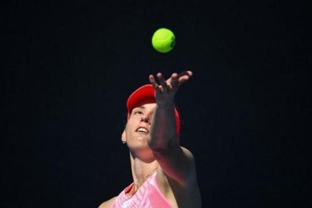 WTA Gippsland Trophy - Elise Mertens voorbij Caroline Garcia naar kwartfinales