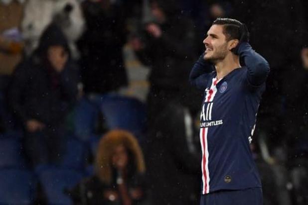 Mauro Icardi, prêté par l'Inter, transféré définitivement au Paris Saint-Germain