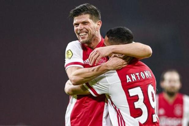 Eredivisie - L'Ajax s'impose à Twente avec un doublé d'Huntelaar en fin de match