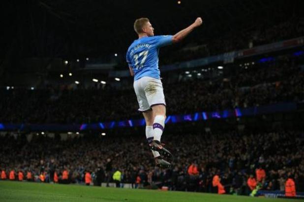 Belgen in het buitenland - Kevin De Bruyne scoort en laat scoren bij Manchester City