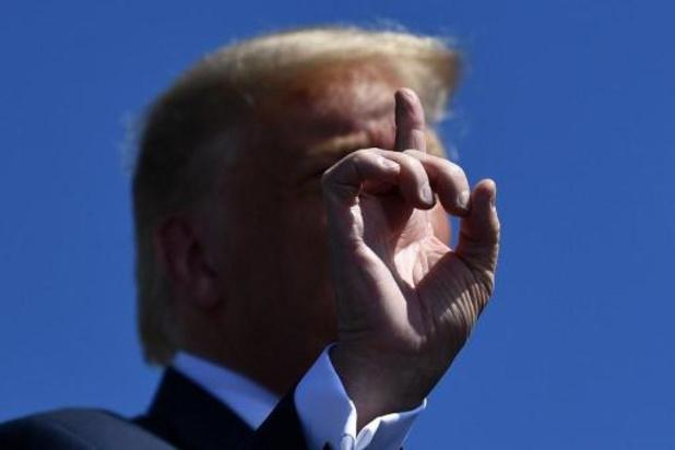 Trump dresse le tableau apocalyptique d'une présidence Biden