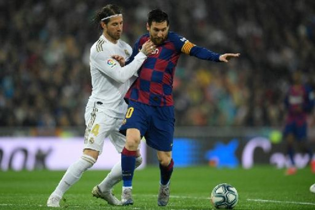 "Lionel Messi au PSG - ""Qui l'aurait cru ?"" Sergio Ramos souhaite la bienvenue à Messi"