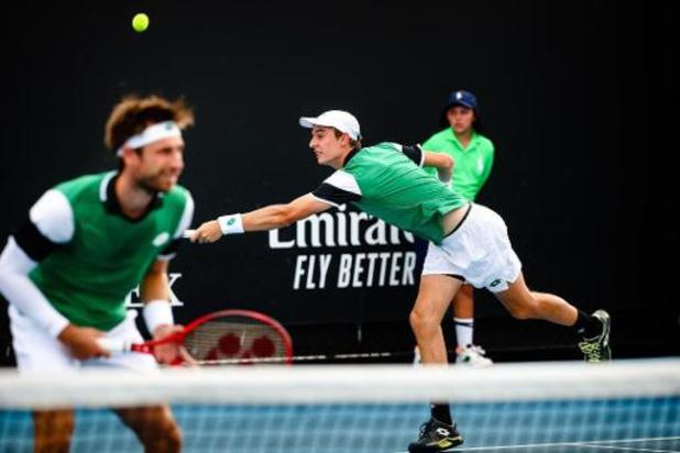 Gillé et Vliegen se hissent en finale où ils viseront un 5e titre
