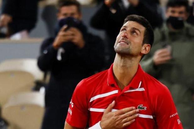 Roland Garros - Novak Djokovic ziet kansen in finale tegen Nadal