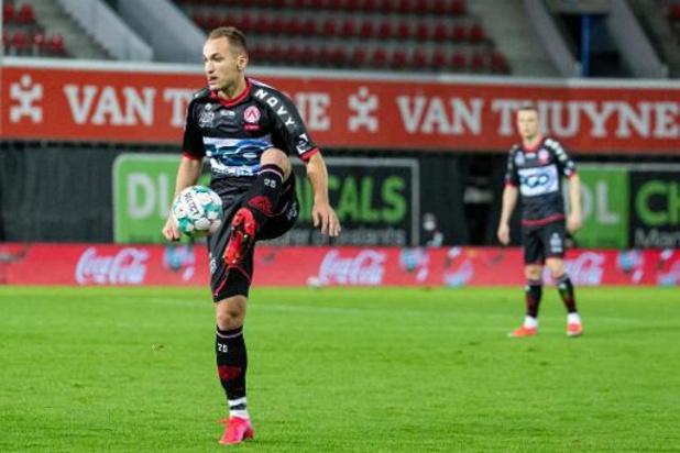 Makarenko (Courtrai) manquera le match contre le FC Bruges après un nouveau test positif