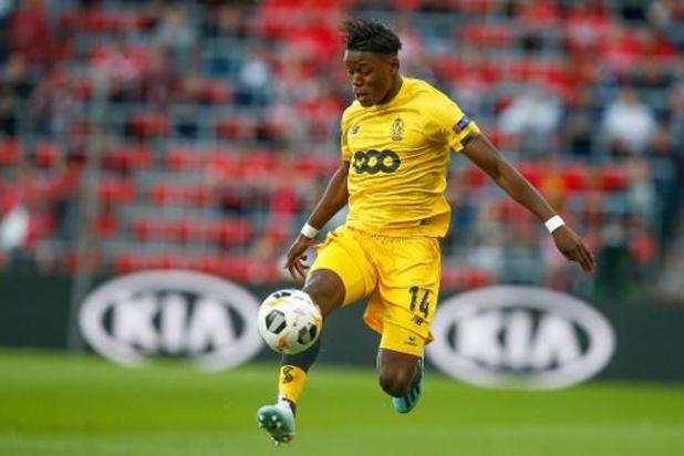 Ook in beroep maand rijverbod voor voetballer Anthony Limbombe