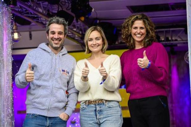 RTBF-actie Viva for Life brengt recordbedrag van meer dan 7 miljoen euro op