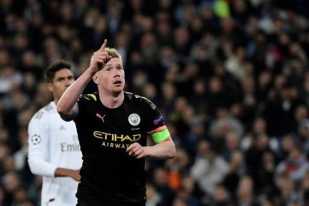 Kevin De Bruyne désigné meilleur milieu de terrain de la Ligue des Champions 2019/2020