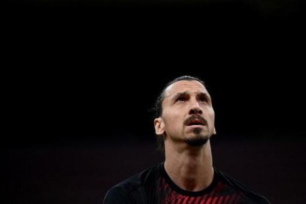 Serie A - Ibrahimovic prolonge pour un an avec l'AC Milan