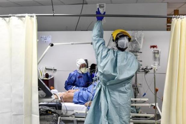Nog zestigtal ziekenhuisopnames per dag