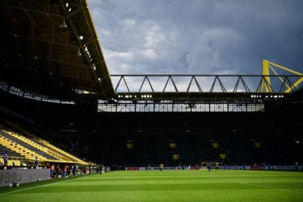 Mogelijk nog tot eind dit jaar voetbal zonder fans in Duitsland