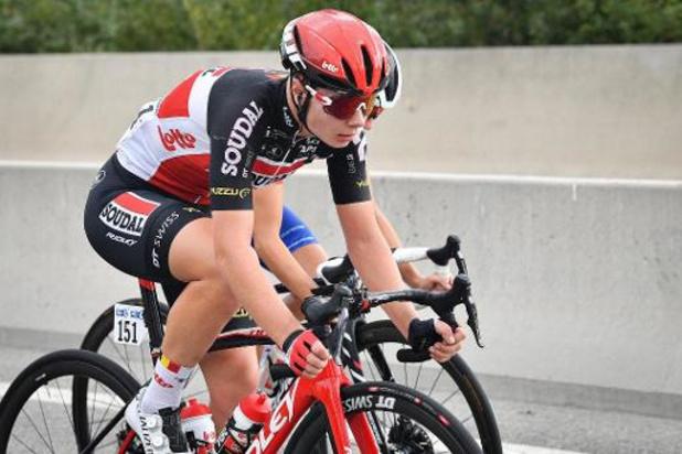Lotte Kopecky wint zevende etappe