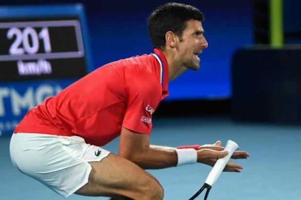 Le parcours de Novak Djokovic semé d'embuches, dont l'une pourrait s'appeler Thiem