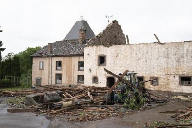 Houffalize: la tornade du 27 juin reconnue comme calamité naturelle publique