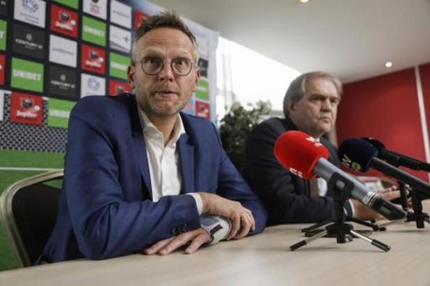 Positie van voorzitter Croonen en CEO François ter discussie binnen Pro League