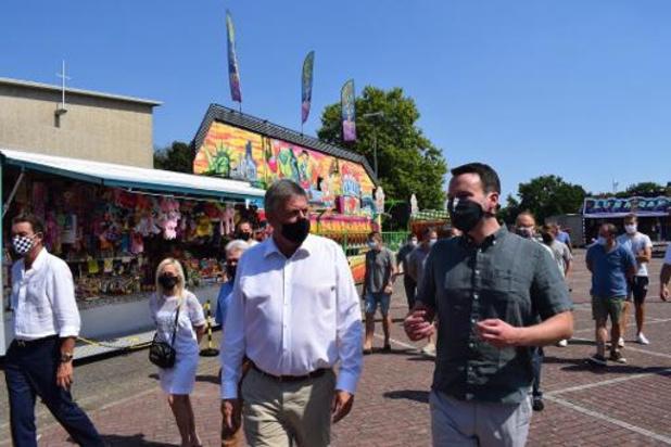 Jambon steekt foorkramers hart onder de riem in Hasselt