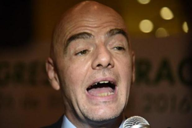 Blatter vindt dat FIFA Infantino moet schorsen