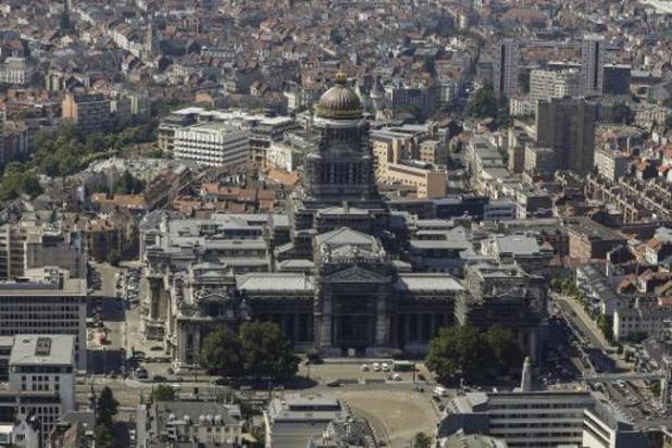 Les visiteurs interdits d'entrer au palais de justice de Bruxelles