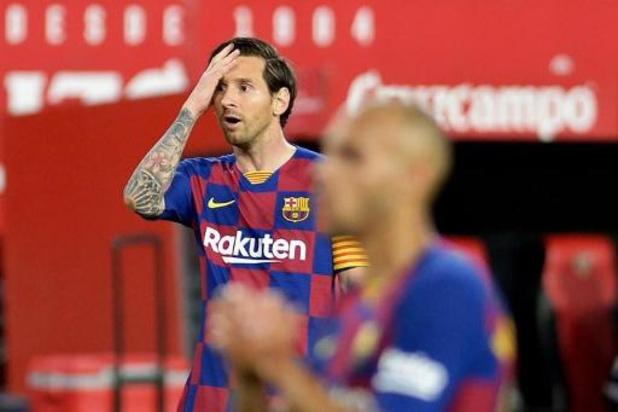 La Liga - Le Barcelone muet à Séville, le Real peut revenir à sa hauteur