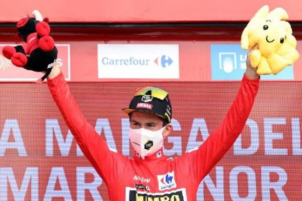 Tour d'Espagne - Primoz Roglic, toujours leader de la Vuelta, a profité de la journée avec le public