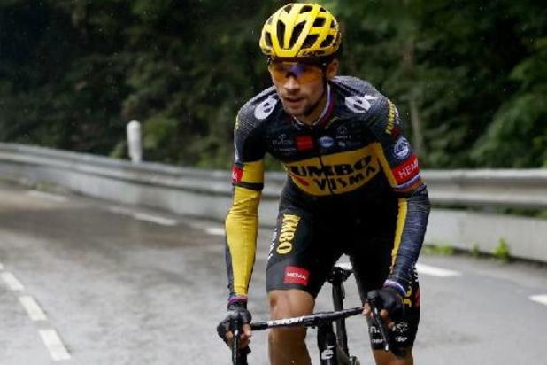 """Tour de France: """"Primoz Roglic roulera les deux étapes de montagne à son rythme"""", assure Merijn Zeeman"""