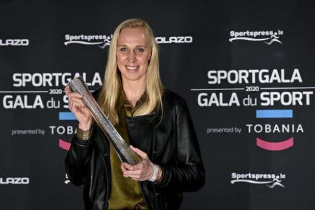 """""""Ce prix représente énormément pour le basket"""", juge Ann Wauters, joueuse des Belgian Cats"""