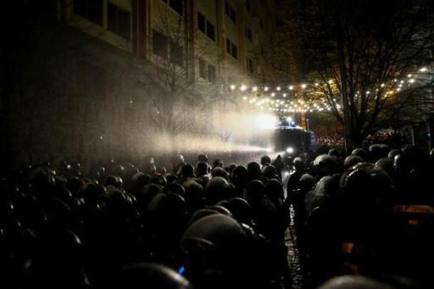 Tientallen mensen opgepakt bij betogingen in Georgië